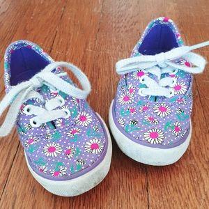 Circo Purple Flower Sneakers